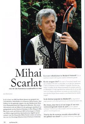 DeKlarinetinterview Mihai