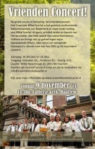Flyer Vrienden concert 2014 voorzijde klein